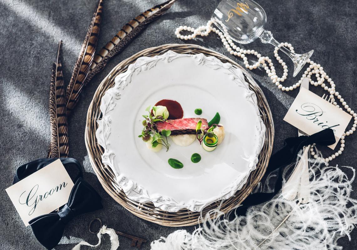 数々のコンクールで受賞を誇るシェフが手がける格式高い料理