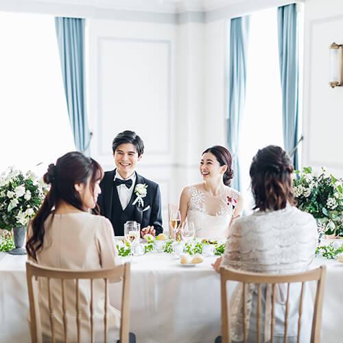 アニバーサリーアン恵比寿の披露宴