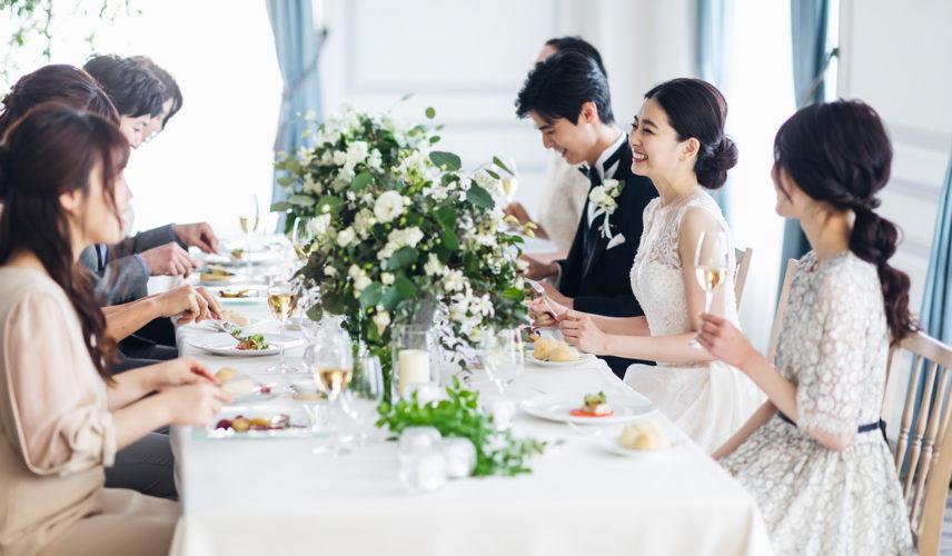 平日開催【貸切の少人数婚に】贅沢コース試食付き♪ 上質邸宅で叶える美食のこだわりアットホームウェディング