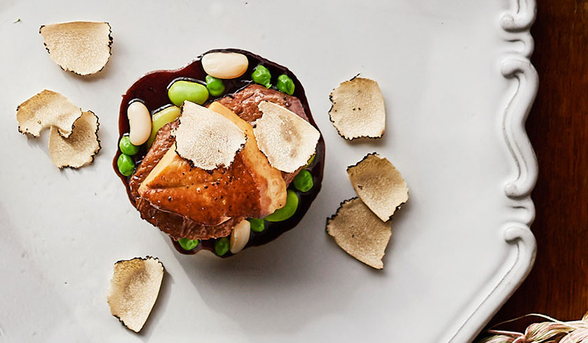 ◆1組限定◆【霜降り和牛&オマール海老】 出汁で愉しむジュドフレンチコース無料試食