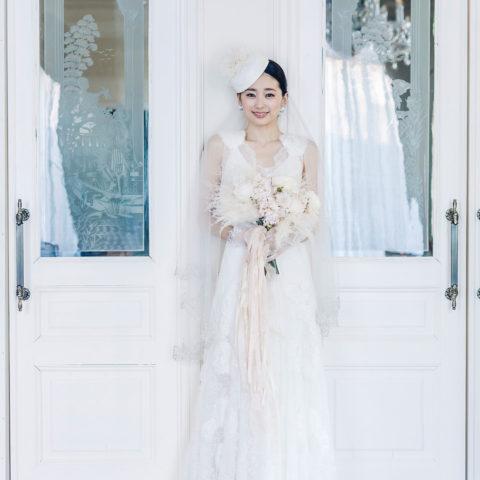 アニバーサリーアン恵比寿 エッチングガラス 新婦