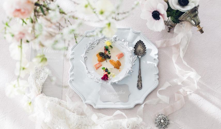 【新和婚×アンティーク薫る邸宅】 おもてなしの美食「ジュドフレンチ」を体感