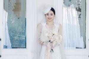 アニバーサリーアン恵比寿 エッチングガラス 花嫁