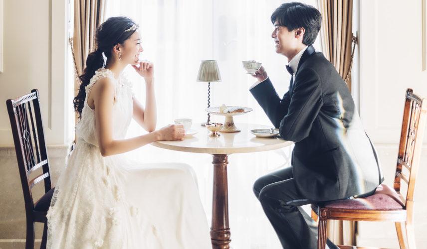 結婚式を諦めない!クラシカルとフェミニンが薫る貸切邸宅でカタチに残るフォトウエディング