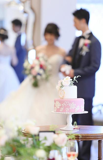 アニバーサリーアン恵比寿 パーティレポ―ト ウエディングケーキ