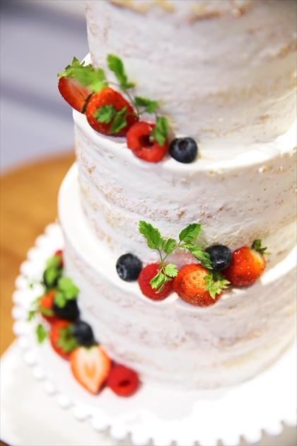 アニバーサリーアン恵比寿 カップルレポート ウエディングケーキ