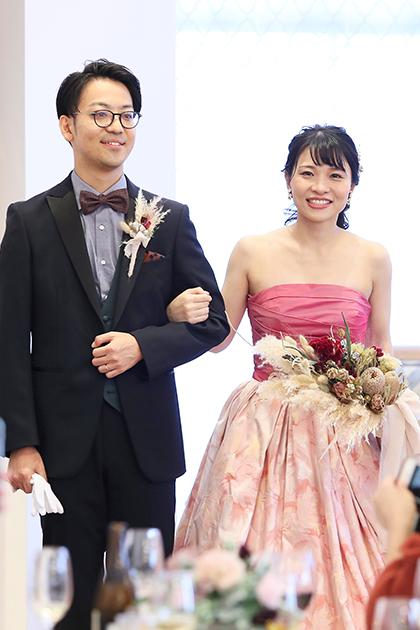 アニバーサリーアン恵比寿 カップルレポート ご新郎ご新婦 カラードレス