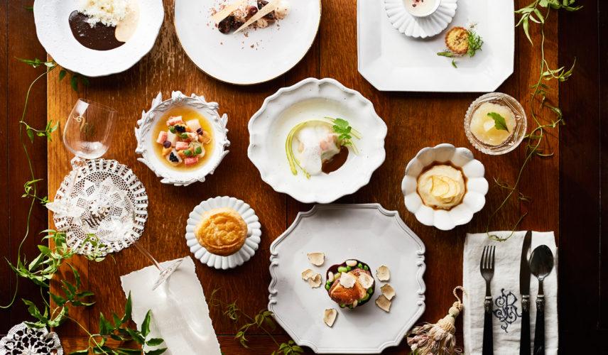 【料理評価◎】緑と光あふれる貸切邸宅ウエディング! 五感で愉しむ贅沢フルコース無料試食付き