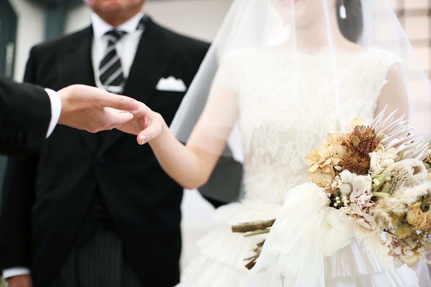 アニバーサリーアン恵比寿 パーティレポート 挙式 新郎新婦