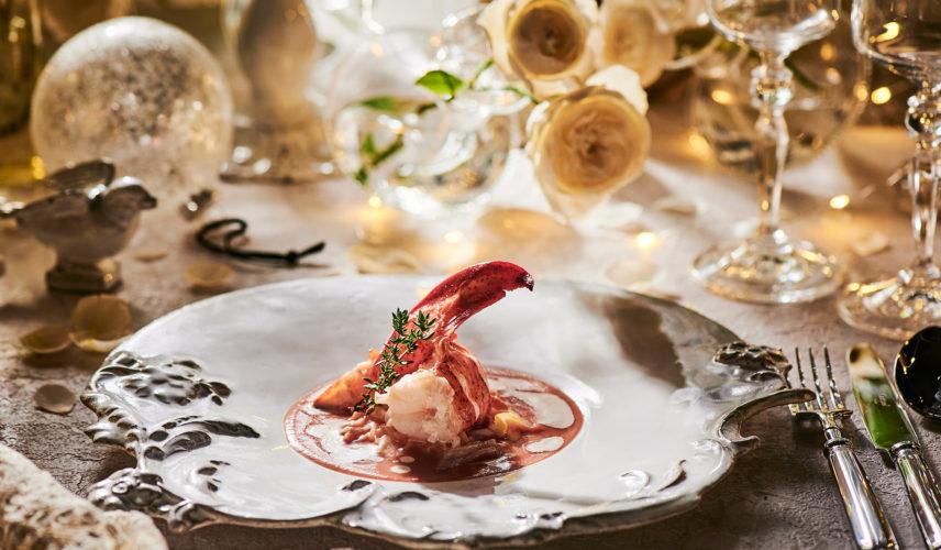 料理評価第1位受賞の美食フルコースを堪能!