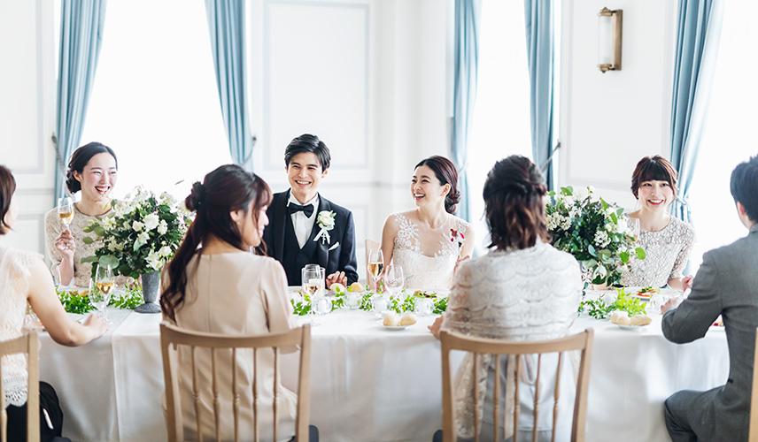 【1組限定!貸切少人数婚フェア】贅沢コース試食付き 上質邸宅で叶える美食のこだわりアットホームW