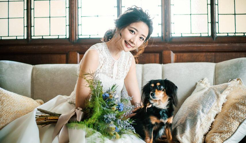 【愛犬・愛猫と】日程限定で邸宅貸切がお得! フリードリンク最大40万&ドレス32万OFFの ペットウエディング