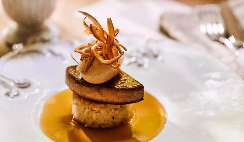 料理重視の和牛&フォアグラとオマール海老贅沢フルコース