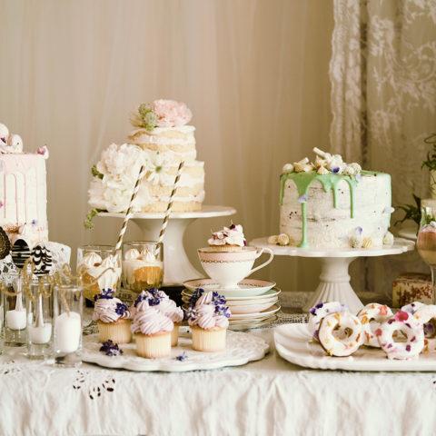 アニバーサリーアン恵比寿 ボンボニエール ウエディングケーキ
